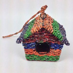 Upcycled birdhouse NEW
